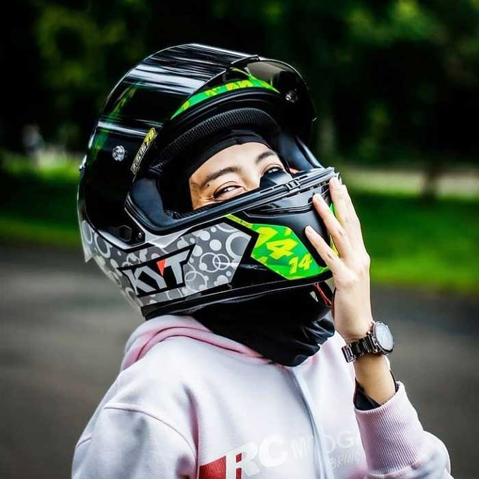 Giới thiệu mẫu tem đua của mũ bảo hiểm KYT